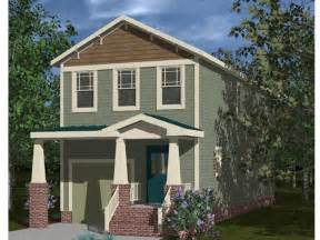 House Plans For Narrow Lots With Garage Narrow Lot House Plans Craftsman Style Narrow Lot Home