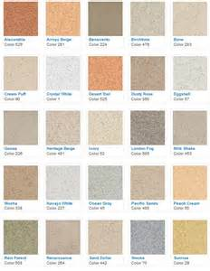 stucco color chart stucco fog coat colors