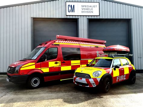 Rescue Car specialist fleet vehicle conversions cm specialist vehicles