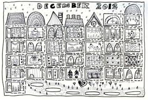 printable advent calendar to colour pin by shelley luetkemeyer on pre k christmas pinterest