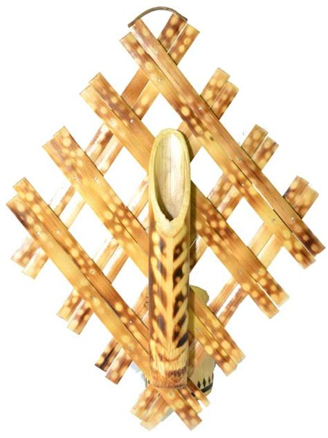 Bamboo Wall Vase by Products Bamboo Wall Hanging Flower Vase Manufacturer In