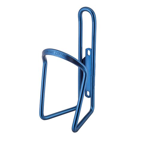 Bottle Cage Anodized Alloy 123 planet bike alloy bottle cage anodized blue bicycle one