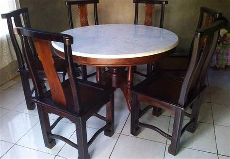 Meja Makan Kursi 6 aneka model meja makan dengan 6 kursi terlengkap 2018 rumah minimalis