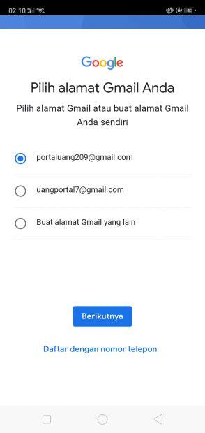 buat akun gmail  portal uang
