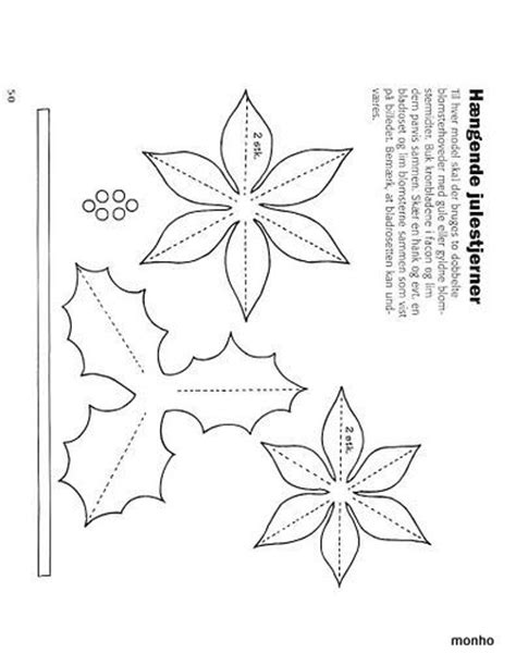 paper poinsettias made from recycled cards template best 25 poinsettia ideas on