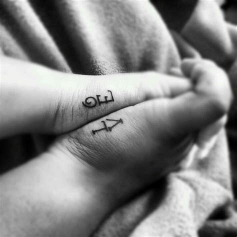 sweet couple tattoos beautiful