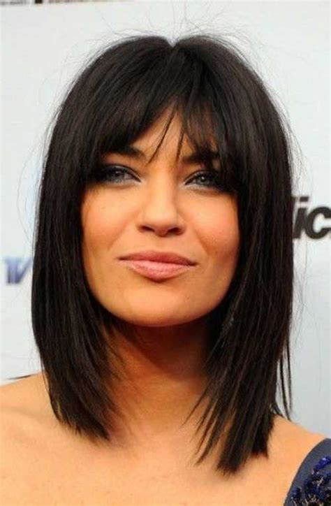 medium hairstyles with bangs for 22 hairstyles for medium thick hair hairstyles