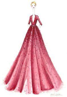More Cavalli Design Sketches For Spice Tour The Union Is Back by Roberto Cavalli Dresses Pausini For World Tour