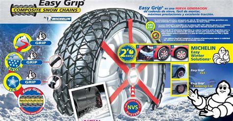 cadenas nieve michelin easy grip 4x4 comprar juego cadenas michelin easy grip 4x4 w12 antes