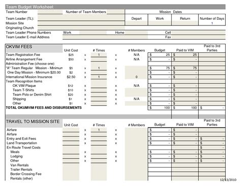church budget spreadsheet template best photos of church budget excel spreadsheet templates
