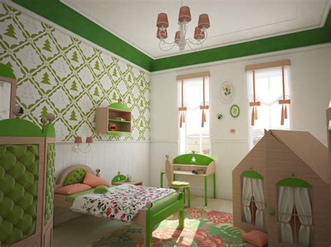 fairytale bedroom creative green bedroom with a forest inspired theme