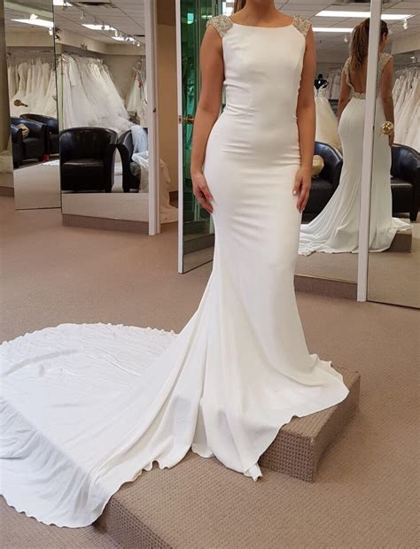 Dress Vanila dress help pronovias vanila or la sposa hazel