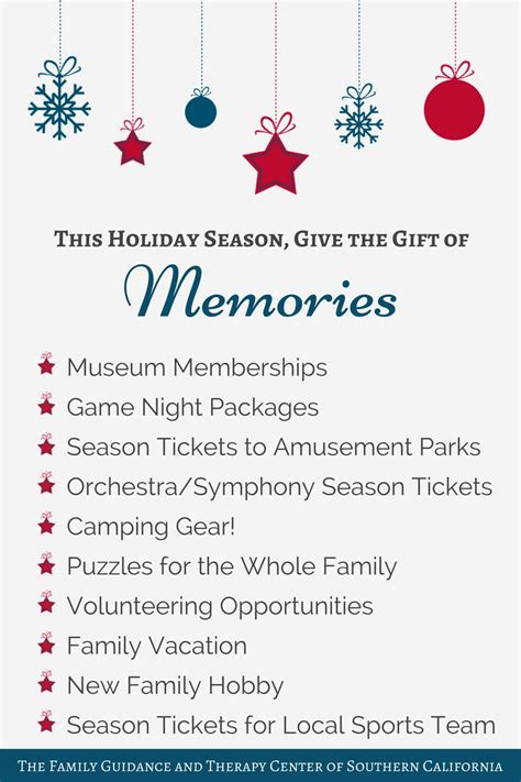 Gift Of Therapy give the gift of memories family guidance therapy center