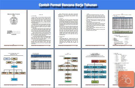 file aplikasi contoh rkt rencana kerja tahunan
