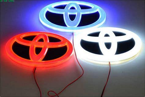 Lu Led Mobil Modifikasi jual emblem mobil car logo nyala lu led honda toyota