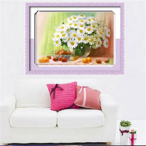 diamond home decor diy 5d diamond painting flower embroidery cross crafts