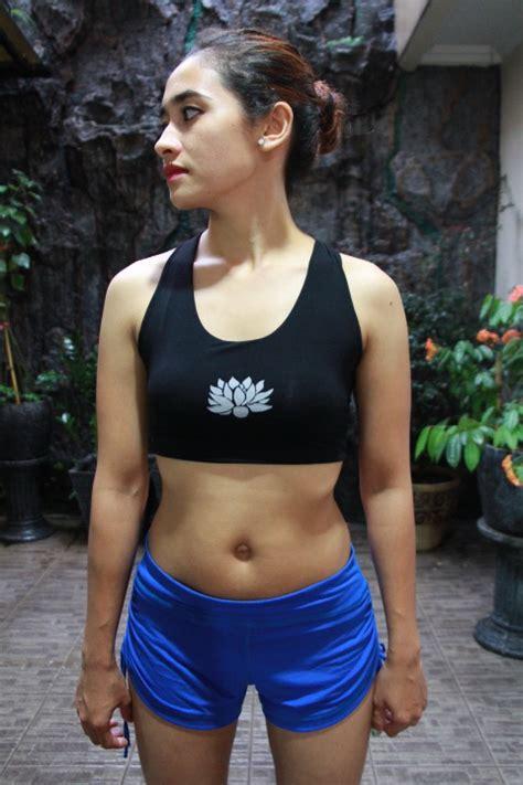 New Bra Motif Brokat Putih 3309y bra kombinasi warna uniqueyogashop yogamatjakarta