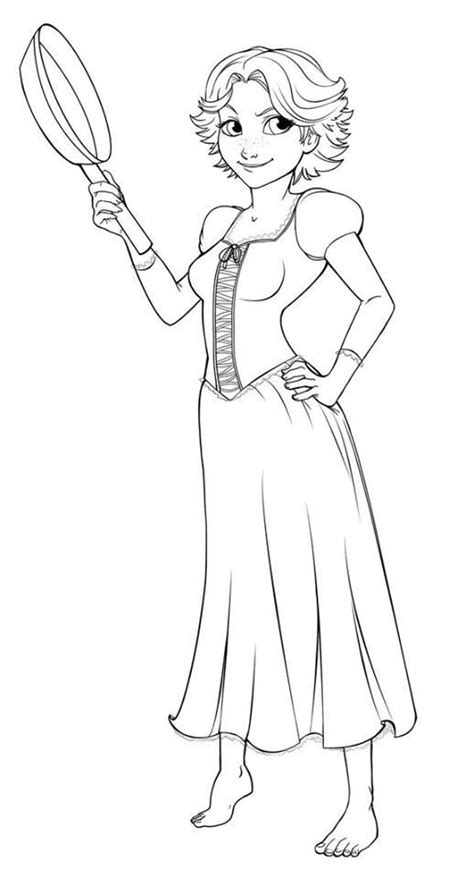 rapunzel hair coloring pages pin by marjolaine grange on coloriage raiponce pinterest