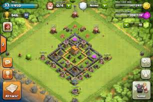 Clash of clans tips town hall level 6 layouts