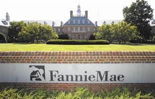 fannie mae freddie mac reach deal to ease mortgage