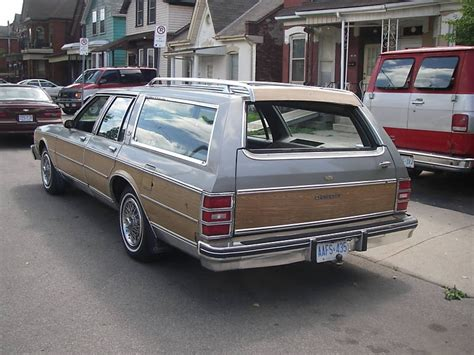 blue station wagon 1984 chevy caprice estate wagon this was the last family