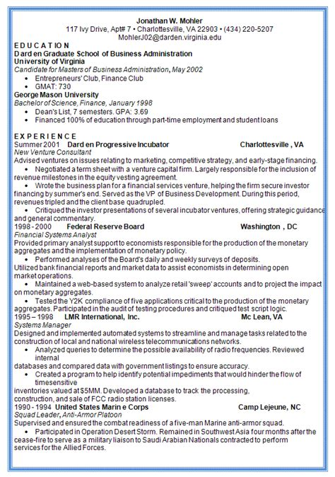 best resume format 2012 academic resume