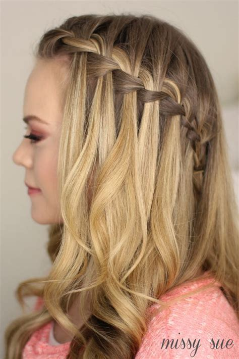 braided half up waterfall kids hair ideas pinterest pinterest the world s catalog of ideas