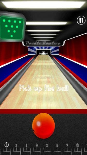 doodle bowling doodle bowling indir android gezginler mobil