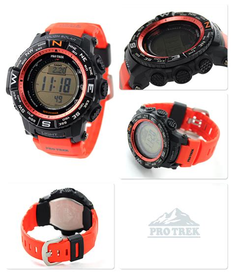Casio Protek Series Prw 3500y 4a Casio For Mens casio pro trek prw 3500y 4jf multi field line multiband 6 solar
