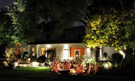 Landscape Lighting Ideas Backyard Landscape Lighting
