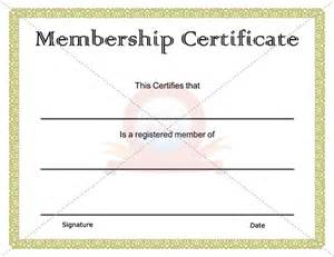 certificate of membership template 15 best images about membership certificate template on