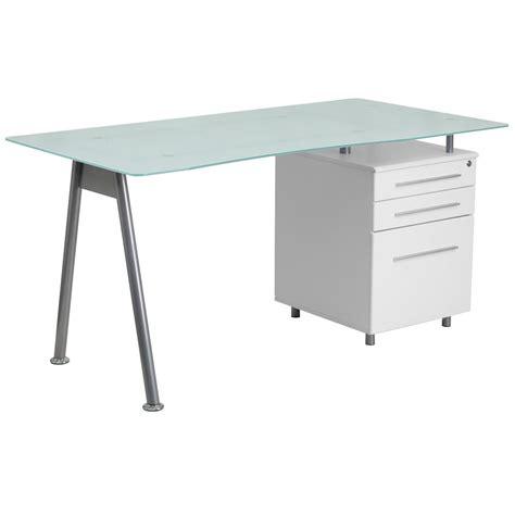 A Frame Computer Desk Llytech Inc Simplistic Black Oak Grey Computer Desk With A Frame 14054bk Gyw The Home Depot