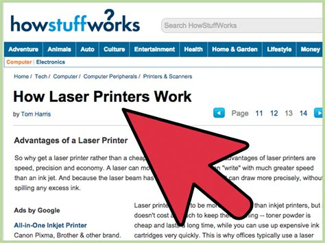 how to decide whether to buy an inkjet printer or a laser