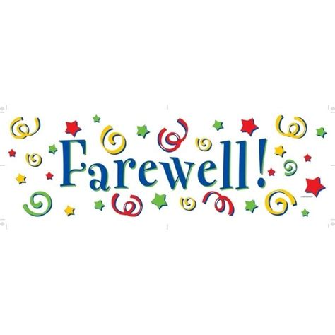 farewell banner template farewell definition what is