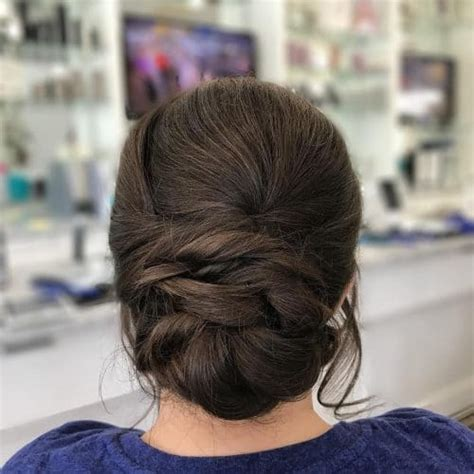 Hairstyles For Hair Updos For Formal by 25 Most Beautiful Updos For Medium Length Hair New For 2018