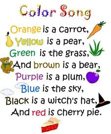 color songs for toddlers color poems for search engine at search