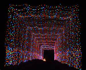 country lights a country through a tunnel of lights 187