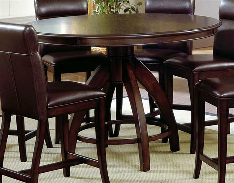 Counter Dining Table by Hillsdale Nottingham Counter Height Dining Table