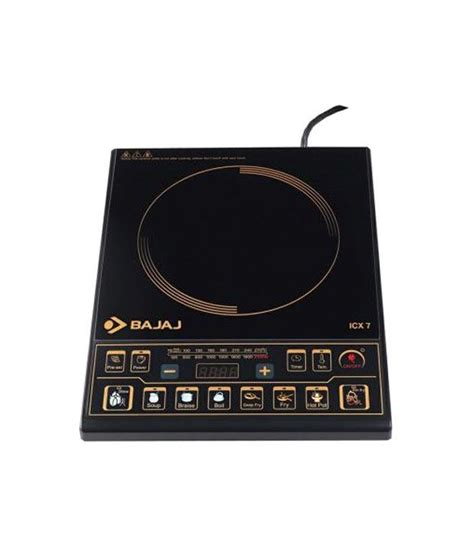 bajaj induction cooker bajaj icx 7 induction cooker price in india buy bajaj icx 7 induction cooker on snapdeal