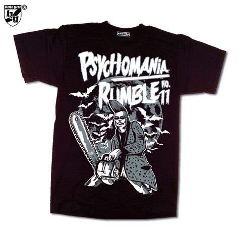 T Shirt Rumble t shirt quot psychomania rumble 11 quot 2017 you