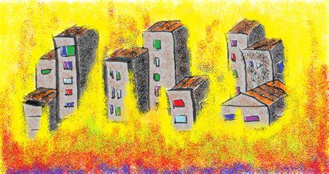 ciudad en llamas mis dibujos ciudad en llamas