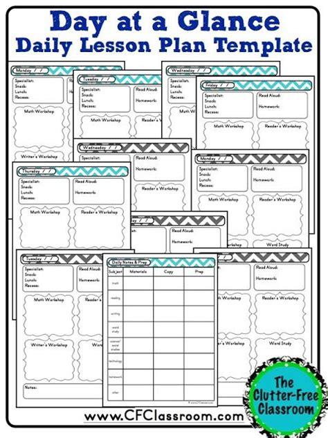 175 best lesson plan templates images on pinterest school teacher