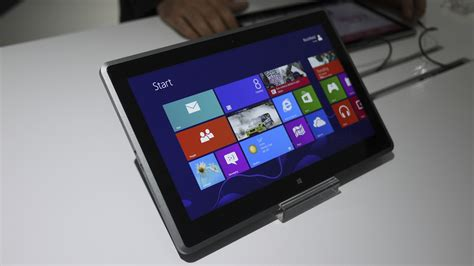 Tablet Pc vizio s amd z60 hondo based windows 8 tablet pc at ces 2013