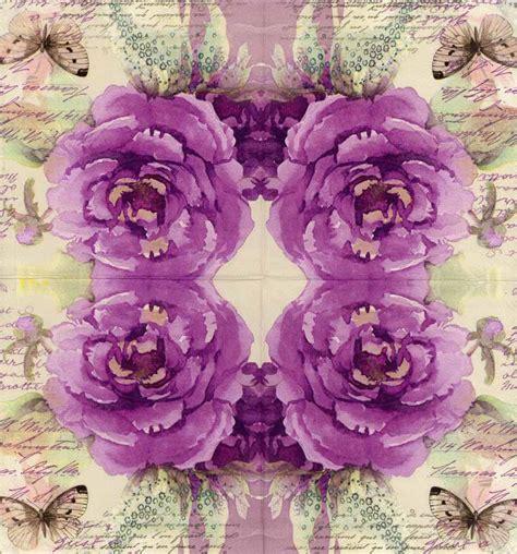 Purple Decoupage Paper - decoupage paper napkins of classic purple with a