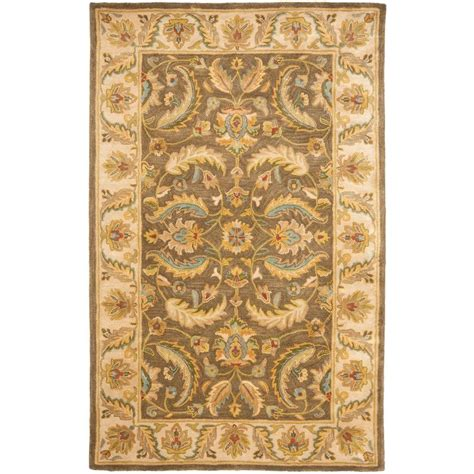 safavieh heritage accent rug in red green hg421a 2 safavieh heritage green beige 4 ft x 6 ft area rug