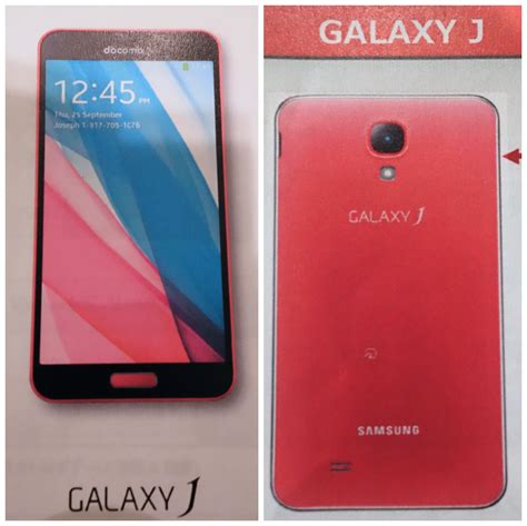 j samsung galaxy samsung galaxy j spotted in carrier brochure with snapdragon 800 processor 3gb of ram and more