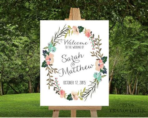 Wedding Car Poster by Printable Custom Wedding Welcome Sign Custom Names Custom