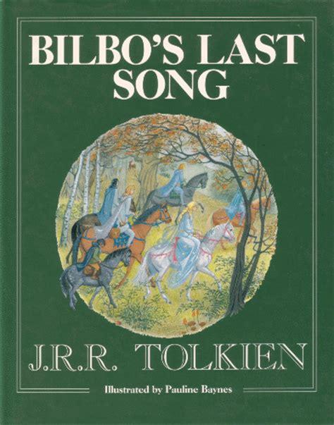 bilbos last song tolkienbooks net bilbo s last song 1991