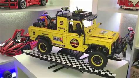 land rover dakar technic land rover defender dakar youtube