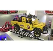 Lego Technic Land Rover Defender Dakar  YouTube